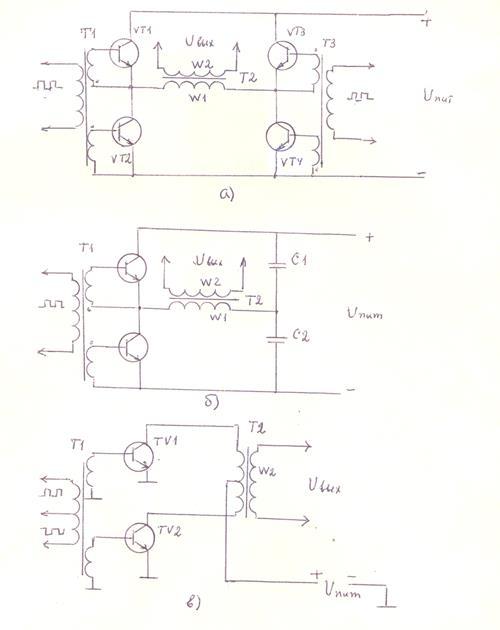 в ключевых транзисторах,